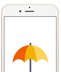 """Bezpłatna aplikacja """"Twój Parasol"""""""